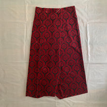 Load image into Gallery viewer, aw1996 CDG Felt Floral Wrap Skirt - Size OS