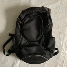 Load image into Gallery viewer, 2000s Issey Miyake Black Ballistic Nylon Backpack - Size OS