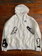 Load image into Gallery viewer, 2000s Bernhard Willhelm x Nike Embroidered Hooded Track Jacket - Size OS