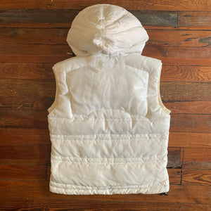 aw1999 Issey Miyake Translucent White Down Vest - Size M