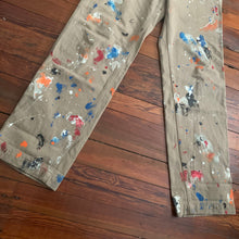 Load image into Gallery viewer, 2011 CDGH Tan Paint Splatter Pants - Size M