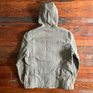 2000s CDGH Faded Hooded Worker Jacket - Size M
