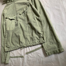 Load image into Gallery viewer, 1940s Vintage WW2 US Navy Grey Gunner Smock - Size XL