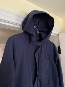 "2000s Samsonite ""Travel Wear"" Navy Technical Hooded Jacket by Neil Barrett - Size M"