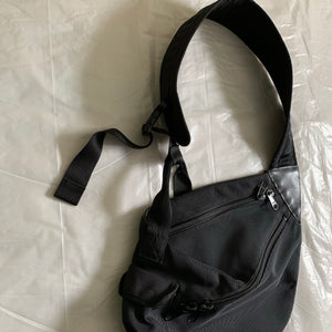 2000s Issey Miyake Black Shoulder Side Bag - Size OS