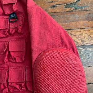 1998 General Research 74 Pocket Red Hunting Jacket - Size L