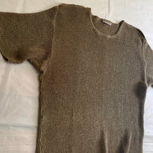 Load image into Gallery viewer, 1980s Issey Miyake Knitted Short Sleeve - Size M