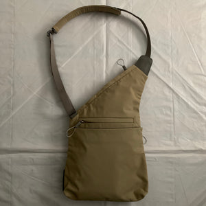 2000s Vintage Nike Beige Shoulder Sling Saddle Bag - Size OS