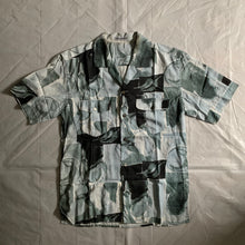 Load image into Gallery viewer, ss1997 Issey Miyake Revere Collar Abstract Painting Shirt - Size L