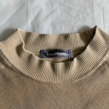 Load image into Gallery viewer, 1980s Issey Miyake Graphic Beige Crewneck Sweater - Size L