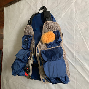 1990s Vintage Patagonia Made in USA Modular Backpack Vest - Size OS