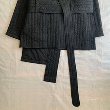 Load image into Gallery viewer, ss2016 Craig Green Samurai Wrap Jacket (Black) - Size OS
