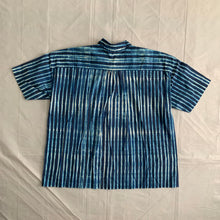 Load image into Gallery viewer, ss1996 Issey Miyake Blue Dyed Striped Shirt - Size XL