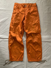 Load image into Gallery viewer, 2000s CDGH+ Orange Nylon Technical Pants - Size S