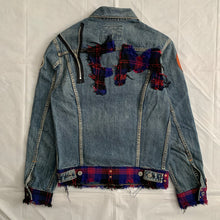 Load image into Gallery viewer, 2000s Yohji Yamamoto x Spotted Horse Patchwork & Reconstructed Denim Jacket - Size M
