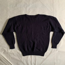 Load image into Gallery viewer, 1980s Vintage Intarsia Porter Knitted Sweater - Size M