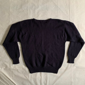 1980s Vintage Intarsia Porter Knitted Sweater - Size M