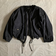Load image into Gallery viewer, ss1992 Issey Miyake Double Layered Mesh Nylon Bomber Jacket - Size S