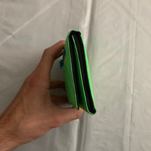 Load image into Gallery viewer, aw2000 Issey Miyake Electric Green Nylon Wallet - Size OS