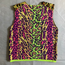Load image into Gallery viewer, ss2018 CDGH+ Psychedelic Leopard Print Knitted Vest - Size M