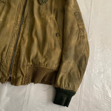 Load image into Gallery viewer, 1940s Vintage WW2 Distressed B-15 Flight Jacket - Size S