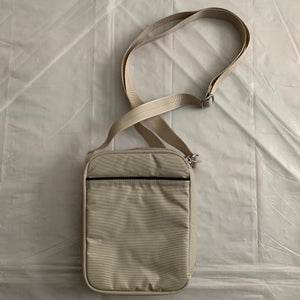 2000s Vintage TUMI T-TECH 5133BFF Silver Side Bag - Size OS