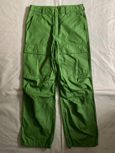 Load image into Gallery viewer, ss2007 Issey Miyake Slime Green Coated Nylon Tactical Pants - Size L