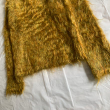 Load image into Gallery viewer, aw1994 Yohji Yamamoto Yellow Mohair Turtleneck Sweater - Size XL