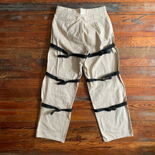 Load image into Gallery viewer, 1996 General Research Beige Bondage Strap Pants - Size M