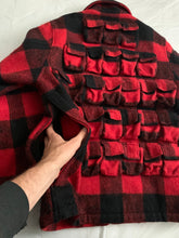 Load image into Gallery viewer, 1998 General Research 37 Pocket Plaid Hunting Jacket - Size L