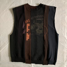 Load image into Gallery viewer, aw2004 Margiela Artisanal Reconstructed Cutoff Crewneck Sweater - Size M