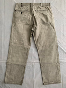 1990s CDGH+ Faded Beige Work Pants - Size S