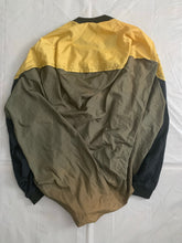 Load image into Gallery viewer, aw1987 Issey Miyake Earth Tone Nylon Circle Pattern Staff Crewneck - Size OS