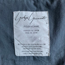 Load image into Gallery viewer, 1990s Yohji Yamamoto Reversible Collarless Work Jacket - Size S