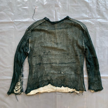 Load image into Gallery viewer, ss1997 CDGH+ Destroyed Mesh Layered Shirt - Size M