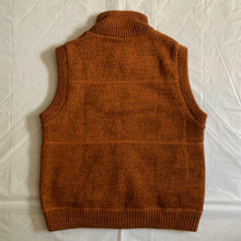 Load image into Gallery viewer, aw2000 Issey Miyake Orange Reversible Vest - Size M