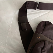 Load image into Gallery viewer, 2000s Mandarina Duck Plum Ballistic Nylon Holster Bag - Size OS