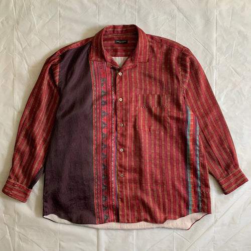 ss1992 CDGH+ Tribal Pattern Shirt - Size L