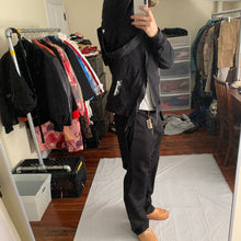 Load image into Gallery viewer, 2015 Kiko Kostadinov x Stussy Split Reconstructed Black Hoodie - Size XL