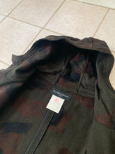 Load image into Gallery viewer, 1990s Ryuichiro Shimazaki Brushed Camo Wool Modular Hooded Parka - Size M