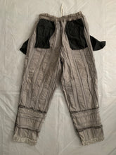 Load image into Gallery viewer, aw1993 CDGH+ Wide Earth Tone Paneled Corduroy Trousers - Size M