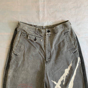 1980s CDGH Bleach Stained Denim Shorts - Size M