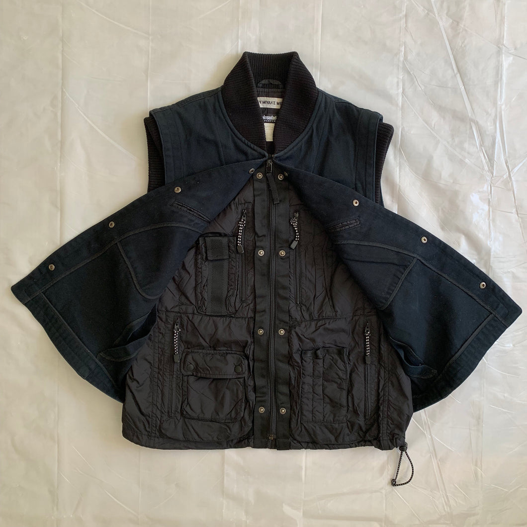 aw2000 Issey Miyake X-Ray Cargo Vest - Size L