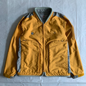2000s Vintage TUMI Yellow Traveler Jacket - Size M