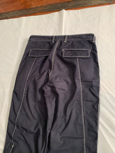 Load image into Gallery viewer, ss2007 Issey Miyake Faded Black Tactical Pants with Contrast Stitching - Size XL