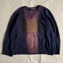 Load image into Gallery viewer, 2001 Junya Watanabe Butterfly Dyed Knit - Size XS