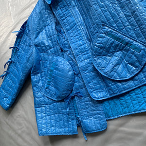 ss2015 Craig Green Metallic Blue Samurai Jacket - Size OS