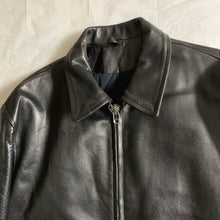 Load image into Gallery viewer, aw1991 Yohji Yamamoto 6.1 The Men Ready For Duty Pinup Leather Jacket - Size M