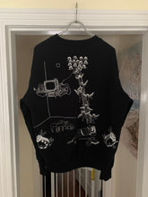 Load image into Gallery viewer, aw2002 Bernhard Willhelm Embroidered Graphic Crewneck - Size M