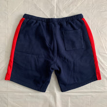 Load image into Gallery viewer, 2010s Cav Empt Navy Cotton Sweatshorts with Ribbed Side Seams - Size XL